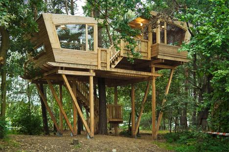 Baumraum Treehouse Almke 1