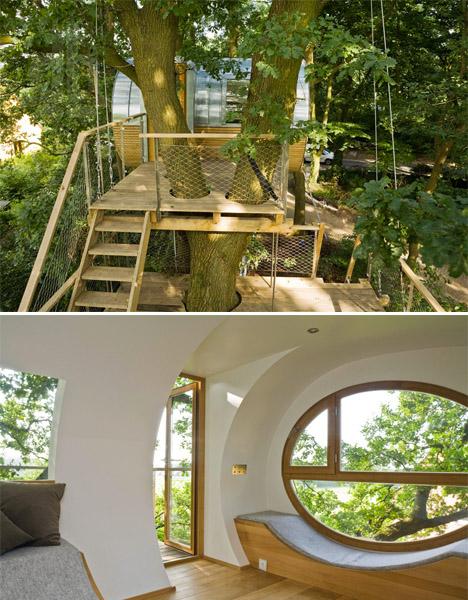 Baumraum Treehouse Djuren 2