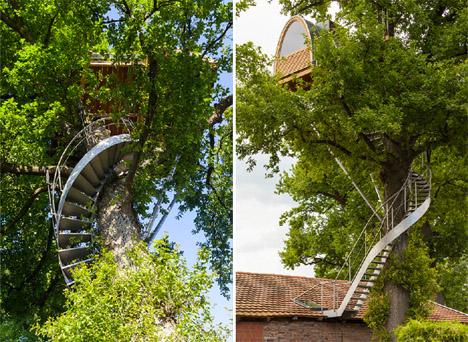 Baumraum Treehouse Halle 3