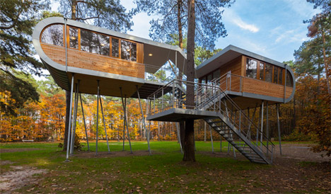Baumraum Treehouse in Belgium 1