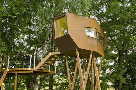 Cabins In The Canopy 13 Modern Tree Houses By Baumraum