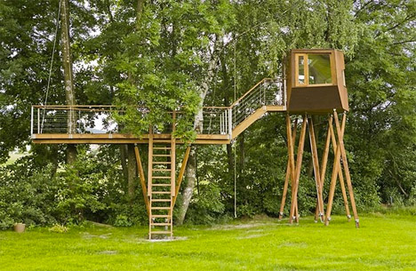 Baumraum Wagtail Treehouse 2