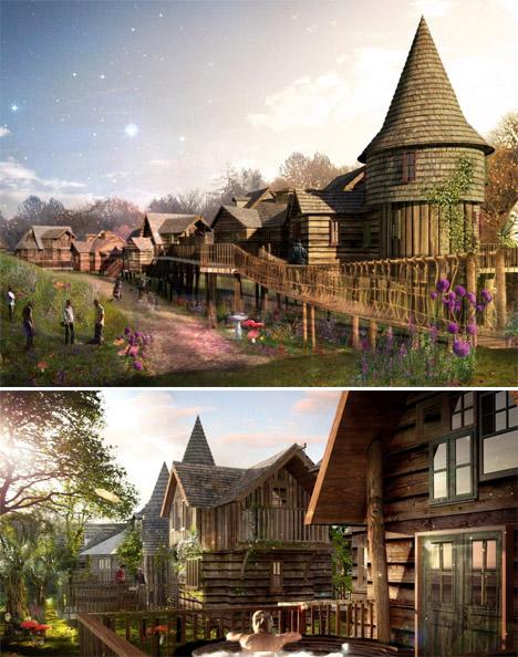 Fairytale Retreats 15 Magical Blueforest Tree Houses