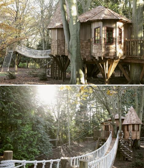 Blueforest Sleepy Hollow Treehouse