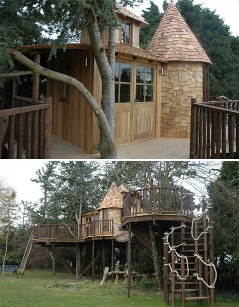 Blueforest Treetop Castle