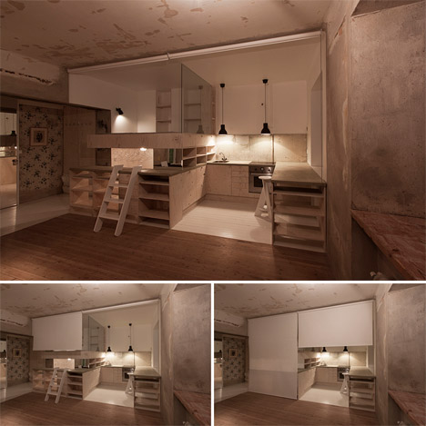 Compact Cube Home: Storage Unit Turned Micro Apartment | Urbanist