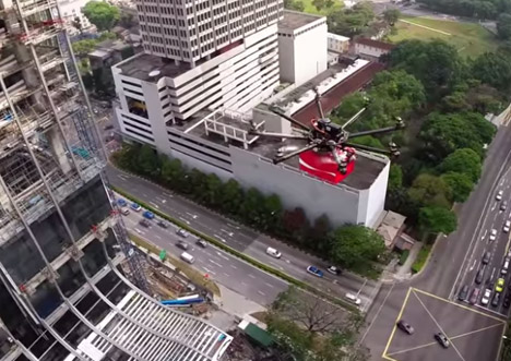Drone Delivering Cokes