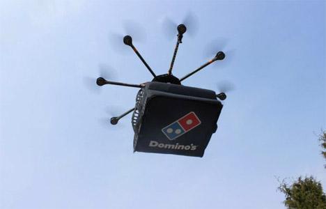 Drone Dominos Pizza Delivery