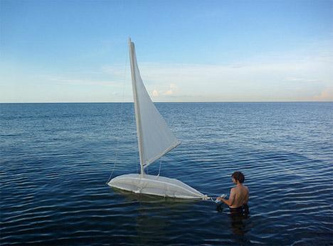 Drones Sailing Pollution Ocean