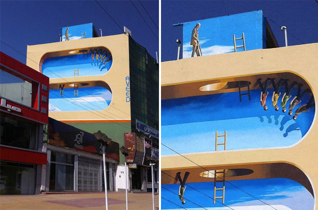Iran Street Art Illusions 1