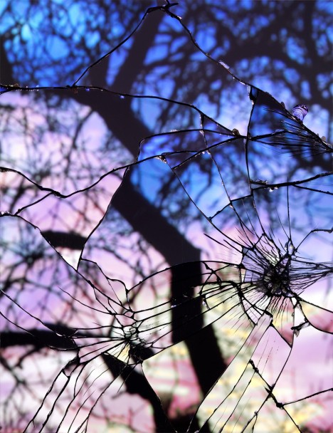 Mirror Art Shattered Sunsets 2