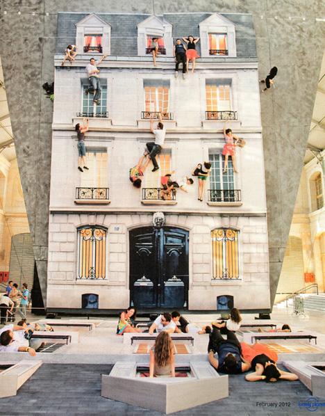 Mirror Art Street Facade 1