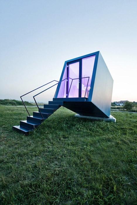 Modular Hotel Rooms Hypercubus 1