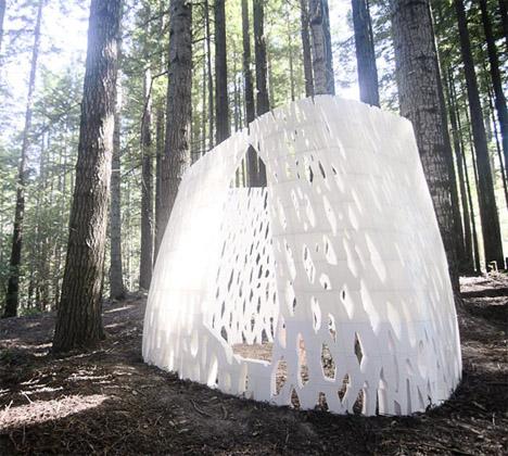 Pavilions 3D Printed 1