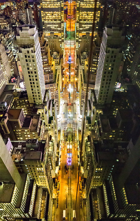 Reflections from Above Skyscraper Photography 4