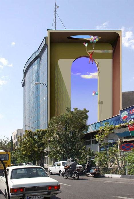 Street Art Illusions Iran 6