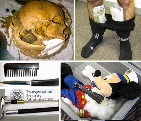 TSA Confiscated items main