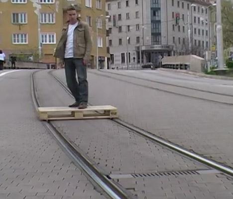 Tramboarding 1