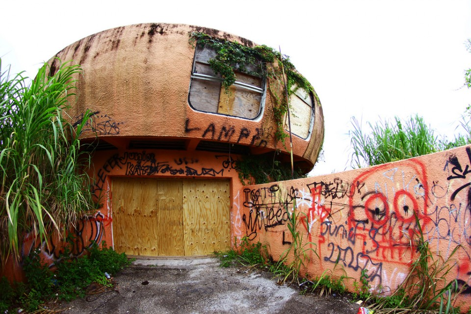 Great Abandoned Alien Homestead: Forsaken UFO House In Florida