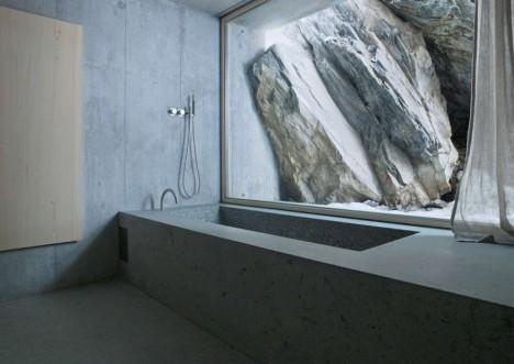 concrete stone shape design