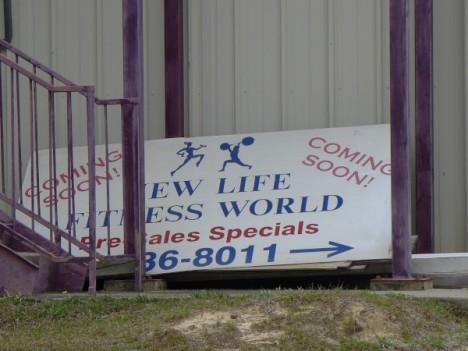 abandoned New Life Fitness World Columbia SC
