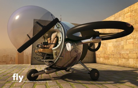 fly copter concept