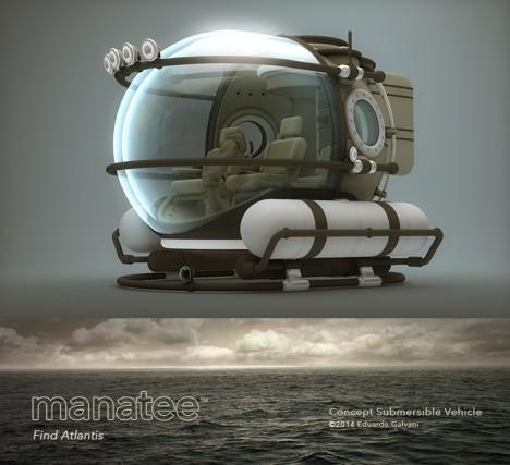 manatee electric marin vehicle