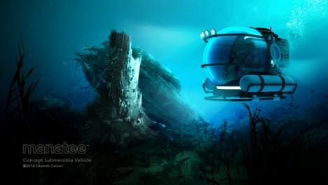 manatee underwater exploration vehicle