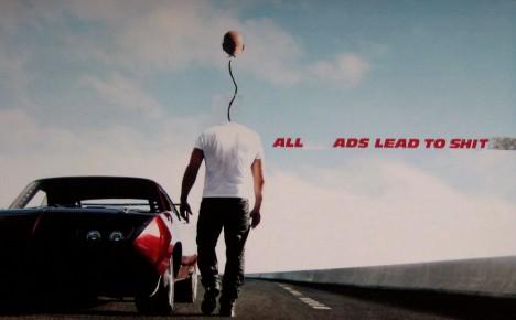 movie poster ad hack