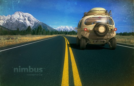nimbus on the road