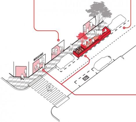 parklet construction guide diagrams