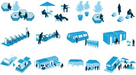 parklet multi use spaces