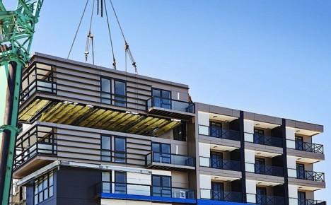 prefab building crane decks