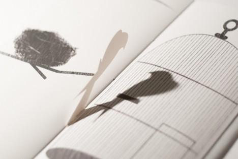 silhouette bird page