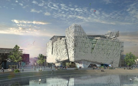 smog converting architectural facade