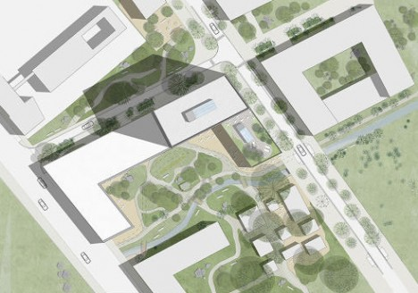 social housing site plan