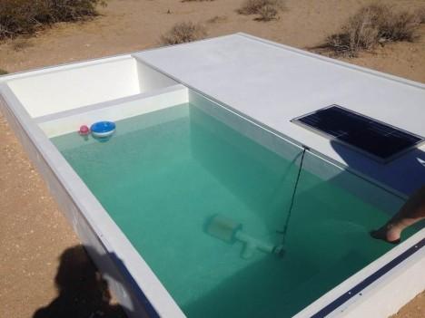 social pool art installation
