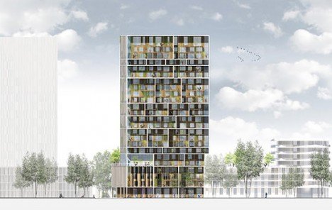 Social Structure Apartment Tower Fosters Community