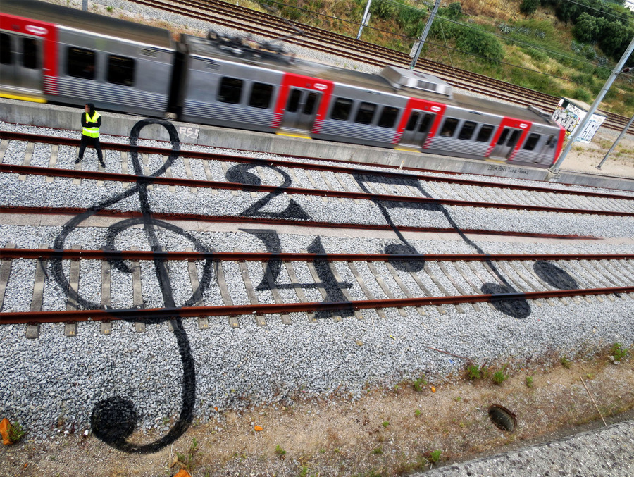 train art rail music