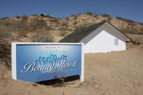 underground beauty resort installation