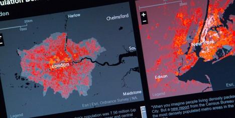 urban observatory chart detail