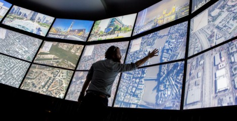 urban observatory touch screens