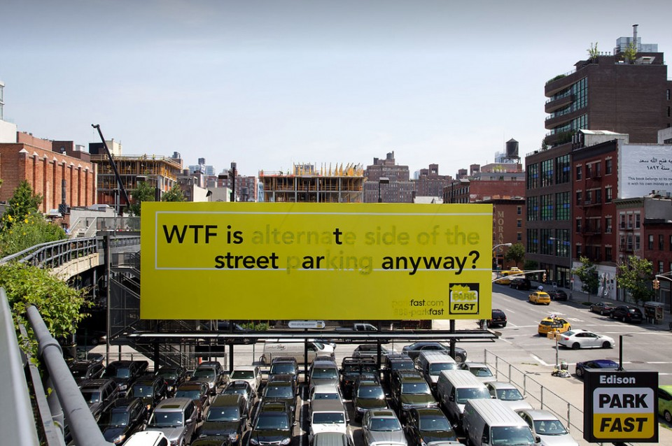Line Drawing Nyc : Wtf is street art? poster boy edits nyc sign by high line urbanist
