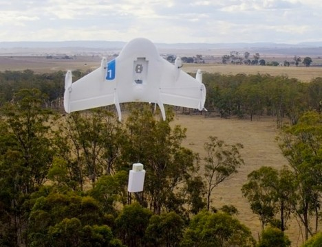 Google Project Wing Drone Delivery 2
