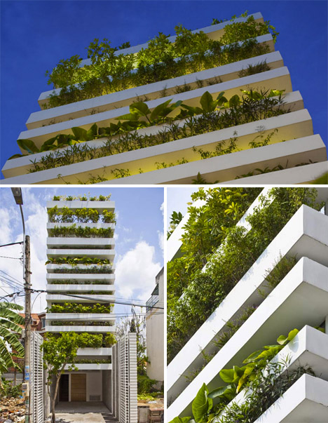 Green Facades Ho Chi Minh