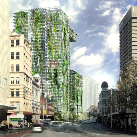 Green Facades World's Tallest Vertical Greenery 1