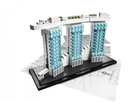 LEGO Architecture Marina Bay Sands