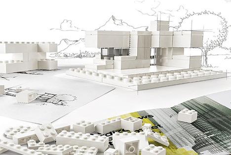 LEGO Architecture Monochromatic 1