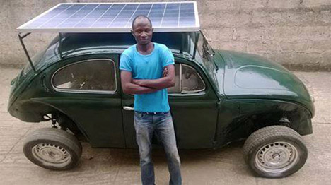 Mobile Solar DIY Car