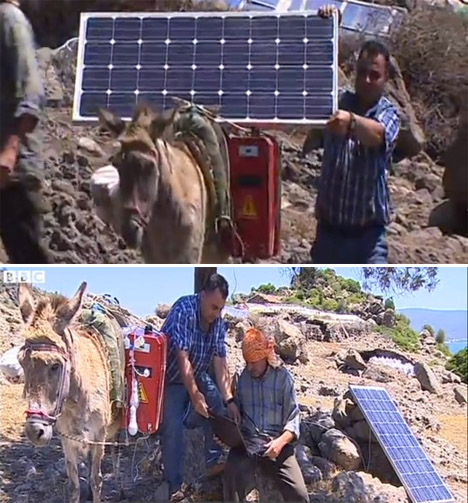 Mobile Solar Donkeys
